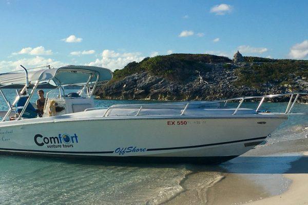 Comfort venture tours boat